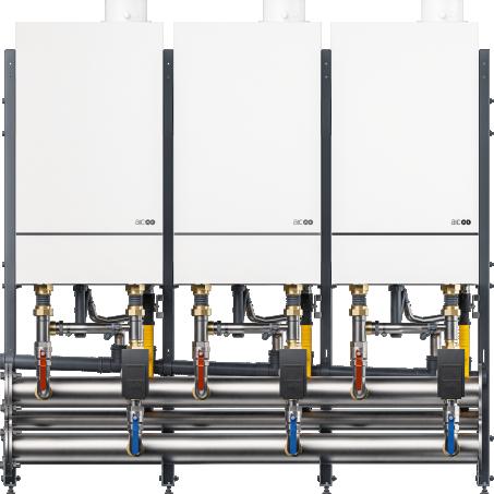 commercial cascade boiler